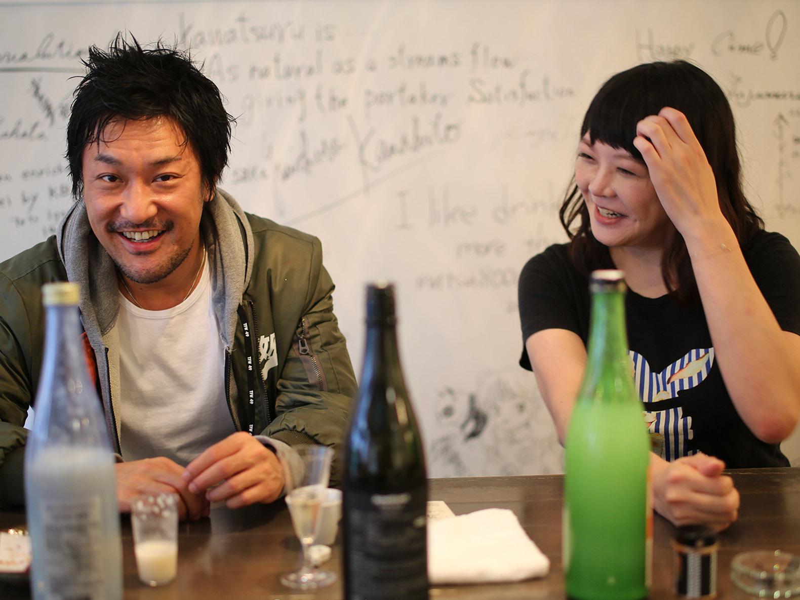 ムーンフラワー(Sagaya銀座)でワイン、日本酒と料理のマリアージュを愉しむ